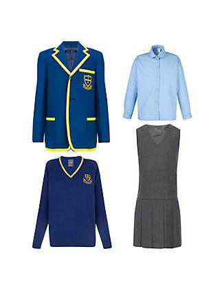 St Michael's Church of England Preparatory School Girls' Years 1 - 4 Winter Uniform