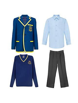 St Michael's Church of England Preparatory School Boys' Years 1 - 4 Winter Uniform