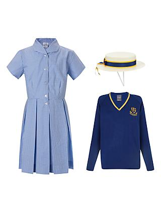 St Michael's Church of England Preparatory School Girls' Years 1 - 4 Summer Uniform