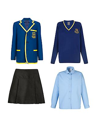 St Michael's Church of England Preparatory School Girls' Years 5 - 6 Winter Uniform