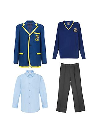 St Michael's Church of England Preparatory School Boys' Years 5 - 6 Winter Uniform