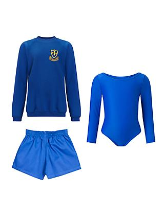 St Michael's Church of England Preparatory School Girls' Years 1 - 2 Sports Uniform