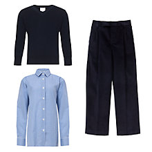Buy La Scuola Italiana A Londra Bilingual Nursery & Primary School Boys' Uniform Online at johnlewis.com
