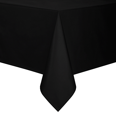 John Lewis Mezzo Tablecloth, Black