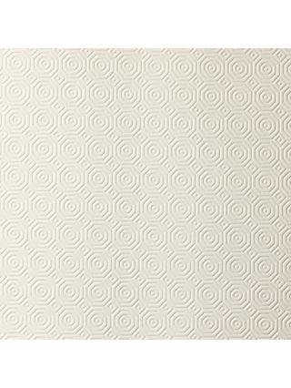 John Lewis & Partners Table Protector, White