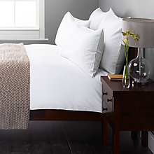 Buy John Lewis Strada Bedding, White Online at johnlewis.com