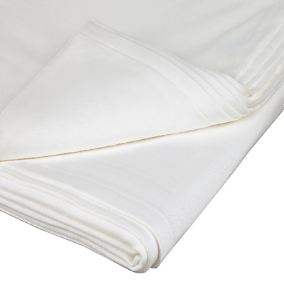 John Lewis Warm & Cosy Brushed Cotton Flat Sheet