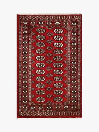 Stan Bokhara Handmade Rug Red