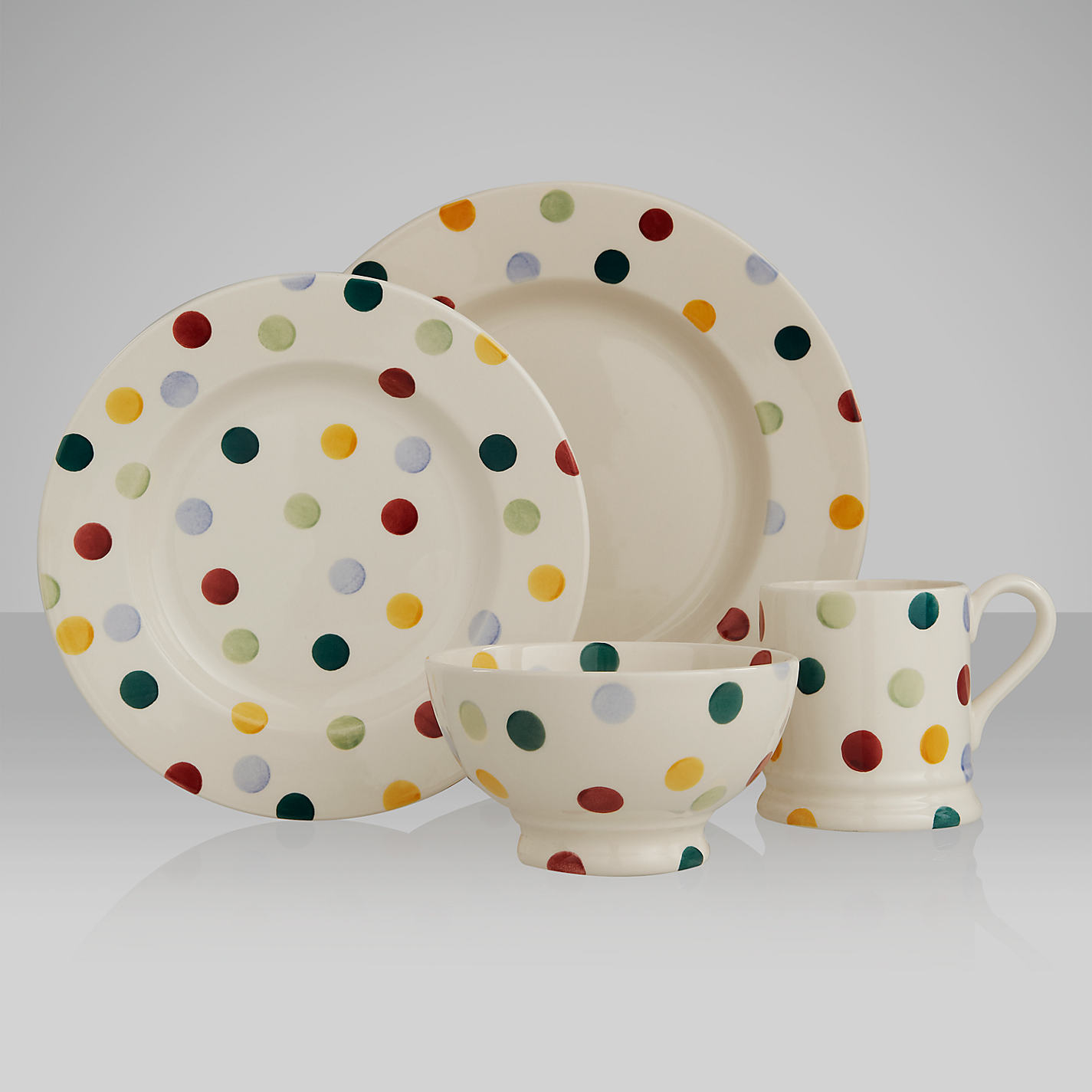 Emma Bridgewater Polka Dots - Home Safe. image number 18 of spotty tableware ... & Spotty Tableware \u0026 Pink Polka Dot Spotty Tableware Paper Napkins ...
