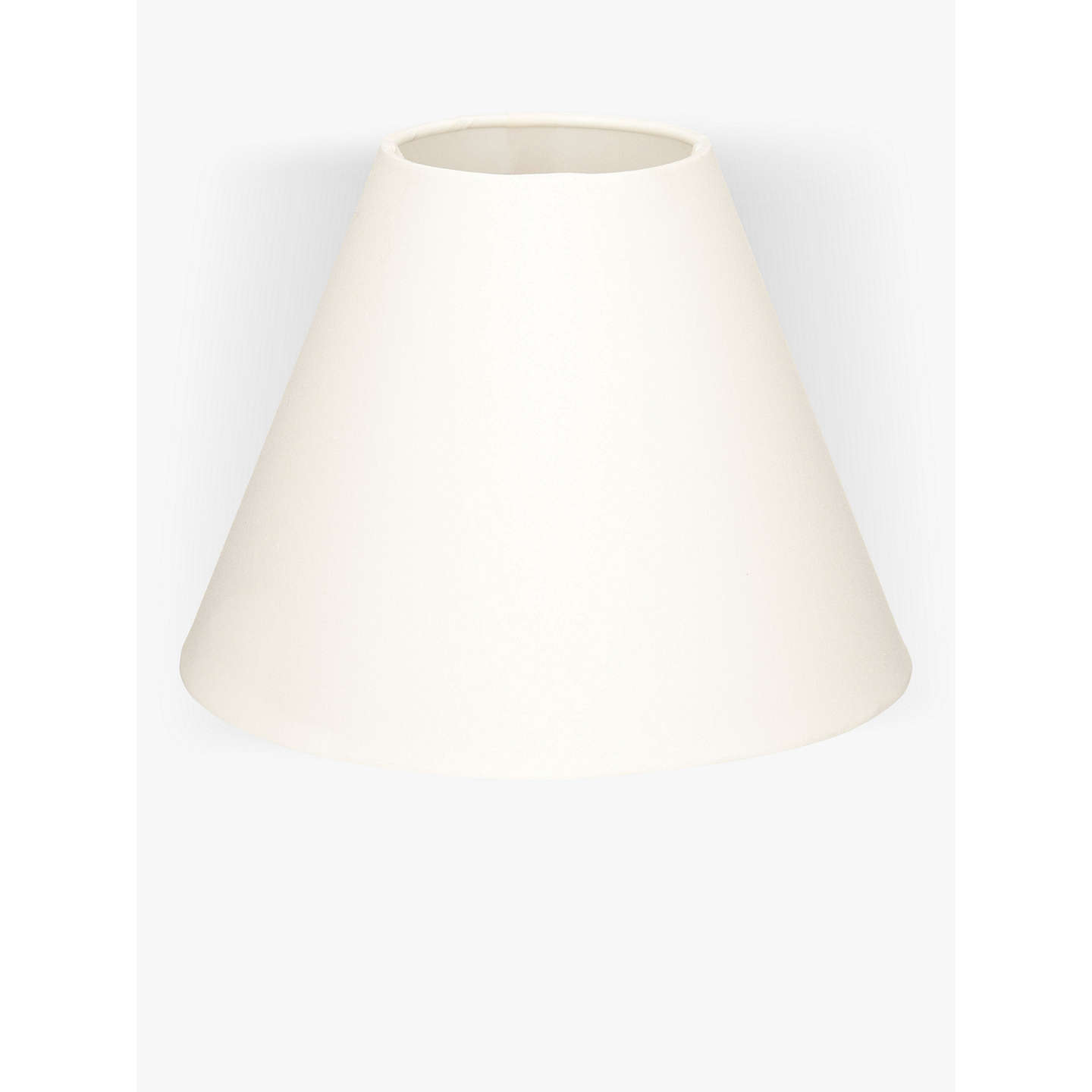House by john lewis lulu cone lampshade at john lewis buyhouse by john lewis lulu cone lampshade cream dia25cm online at johnlewis aloadofball Gallery