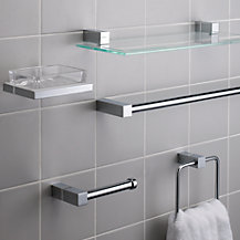 John Lewis Ice Bathroom Fitting Range