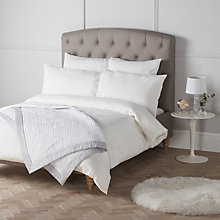 Buy John Lewis Strada Cotton Bedding, Oyster Online at johnlewis.com