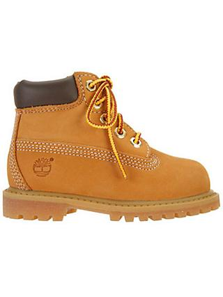 Timberland Children's Classic Boots, Wheat