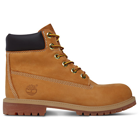 Buy Timberland Children's Classic Boots, Wheat Online at johnlewis.com