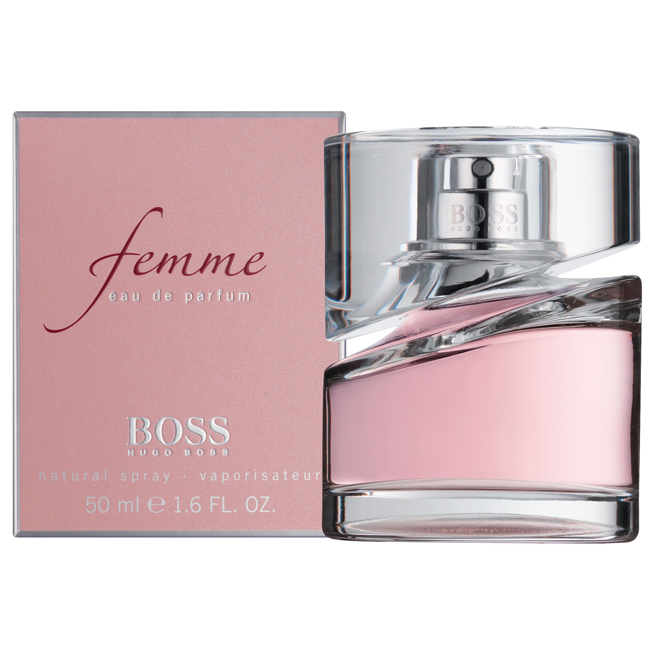 Hugo Boss Boss Femme Eau De Parfum 50ml At John Lewis Partners