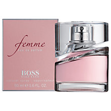 Buy HUGO BOSS BOSS Femme Eau de Parfum, 50ml Online at johnlewis.com