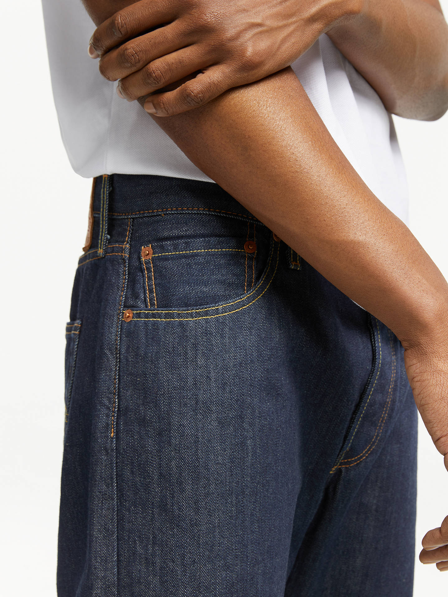 476395be ... Buy Levi's 501 Original Straight Jeans, Marlon, 30S Online at  johnlewis. ...