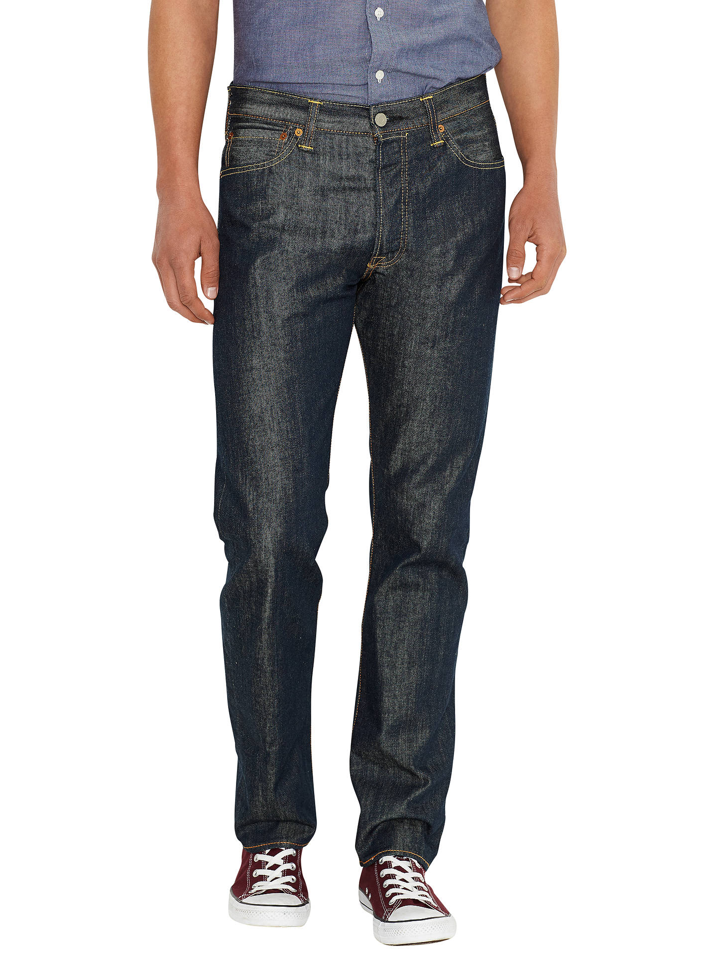 031ce5918ac Buy Levi's 501 Original Straight Jeans, Marlon, 30S Online at johnlewis. ...