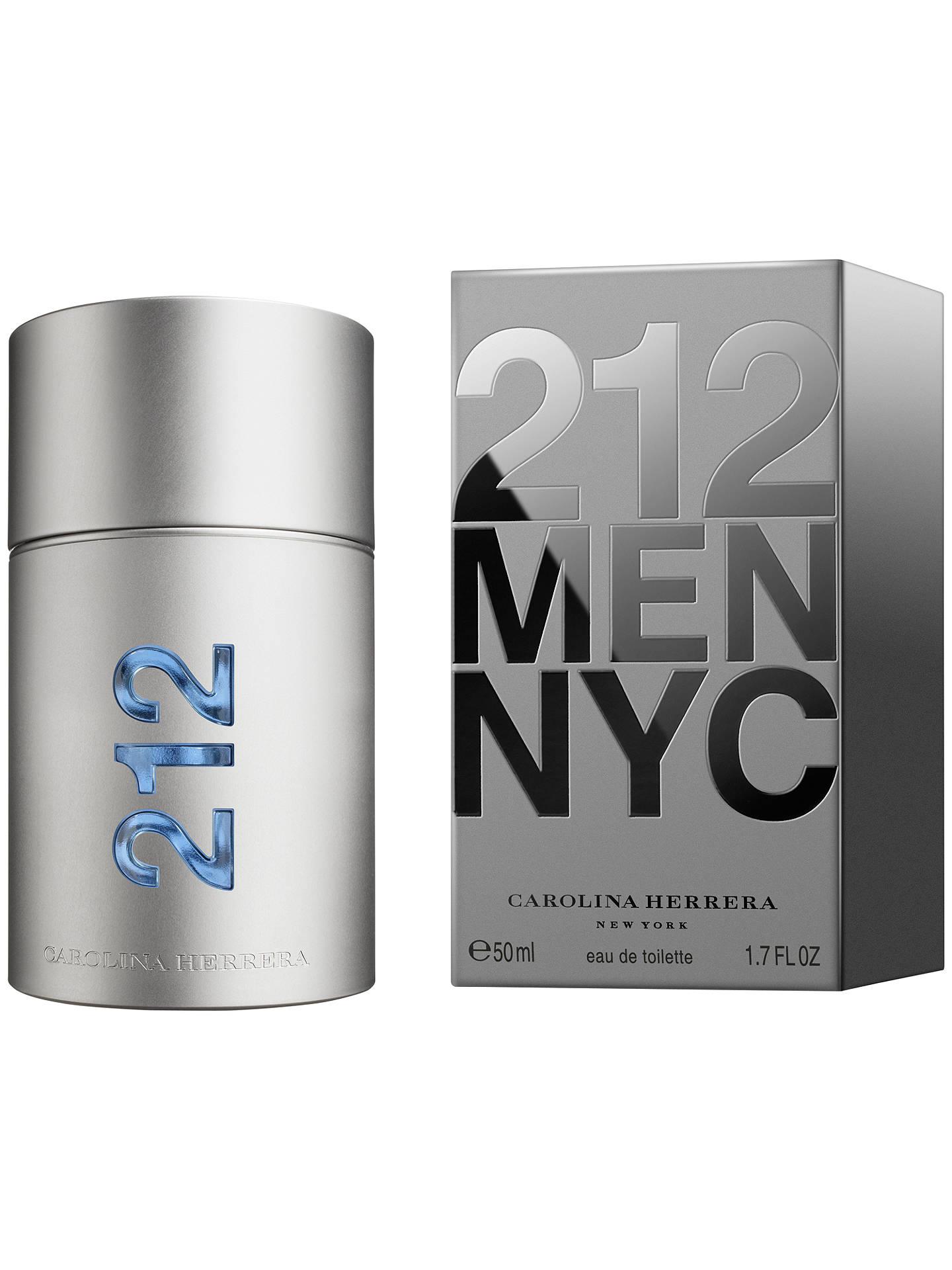 a4f6d44407 Buy Carolina Herrera 212 Men Eau de Toilette Spray, 100ml Online at  johnlewis.com