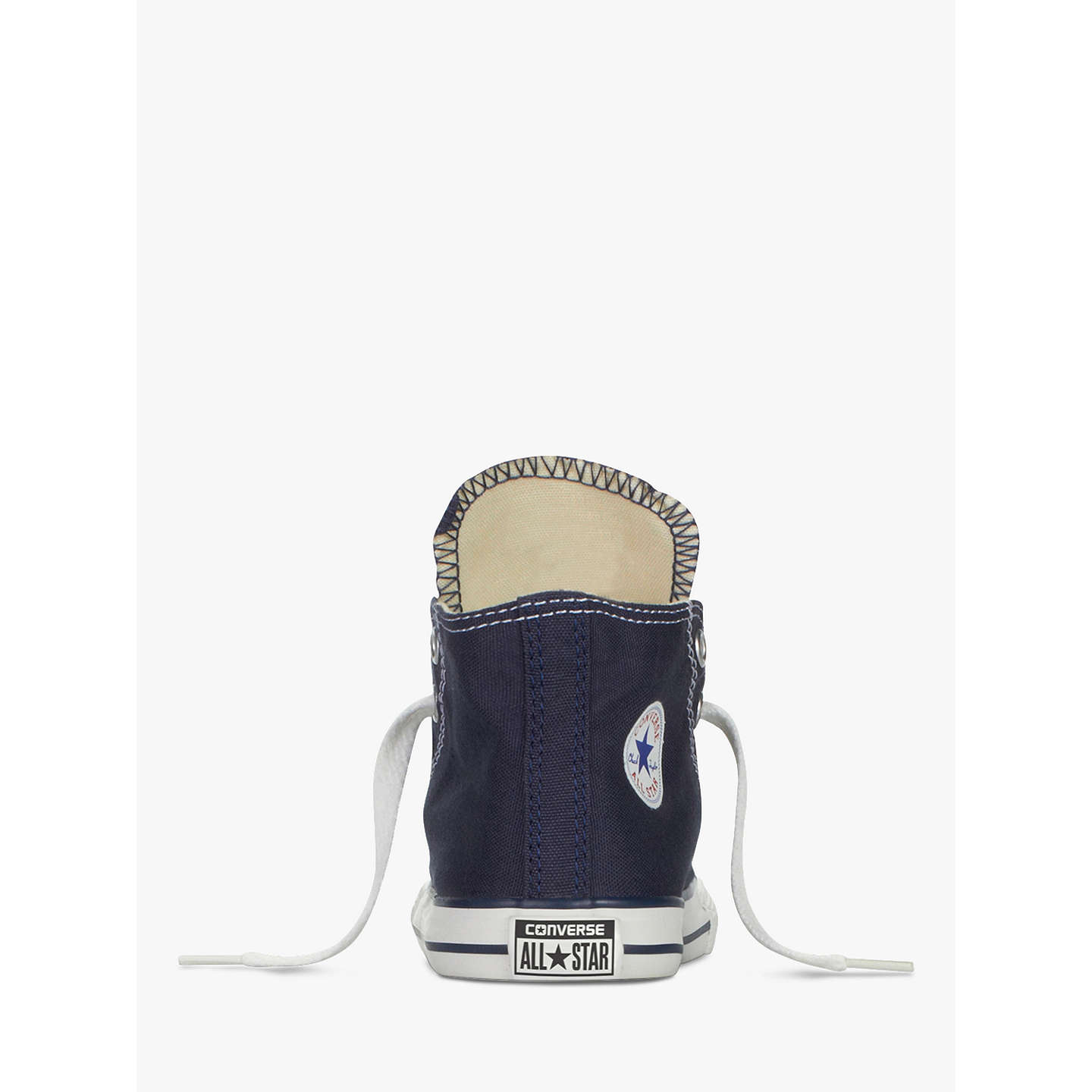 BuyConverse Chuck Taylor All Star Core Hi-Top Trainers, Navy, 4 Jnr Online at johnlewis.com