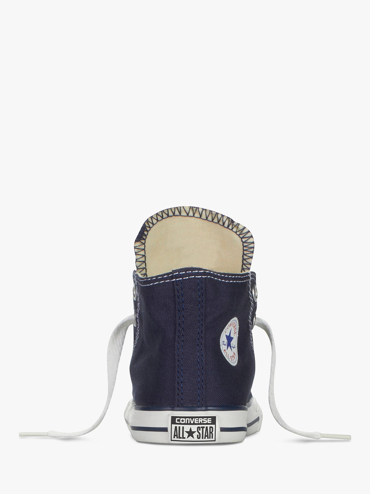 Buy Converse Chuck Taylor All Star Core Hi-Top Trainers, Navy, 4 Jnr Online at johnlewis.com