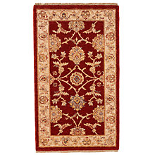 Buy John Lewis Kabir Goby Rug, Red, L295 x W200cm Online at johnlewis.com
