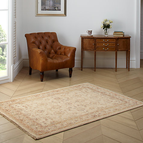 Buy John Lewis Kabir Goby Rug, Cream, W200 x L295cm Online at johnlewis.com