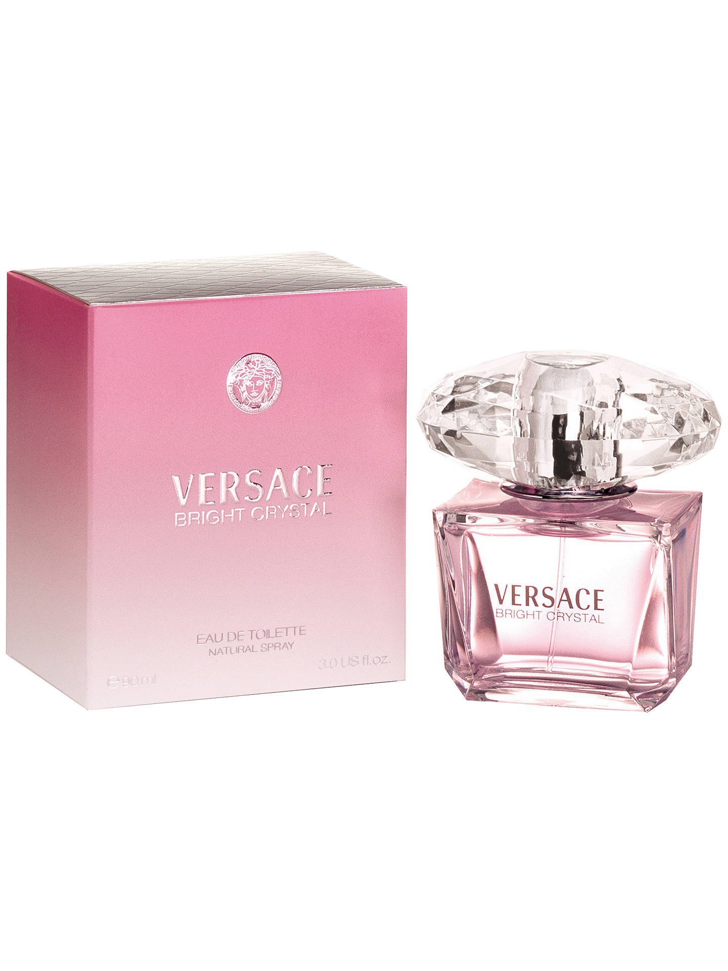 BuyVersace Bright Crystal Eau de Toilette, 50ml Online at johnlewis.com