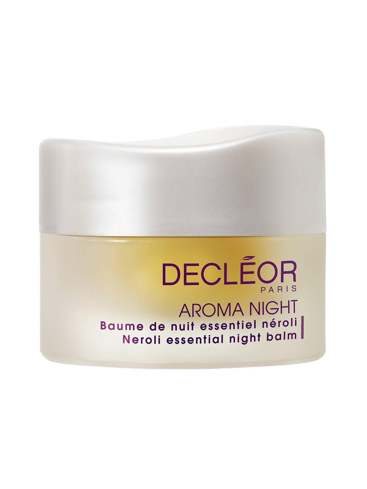 decleor neroli night balm