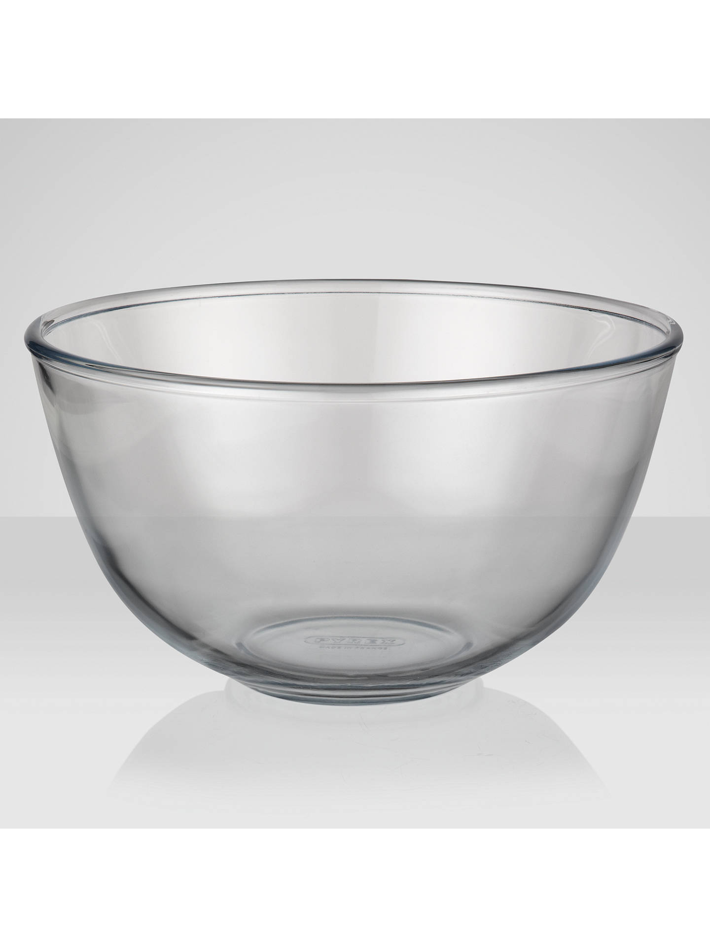 BuyPyrex 3L Glass Mixing Bowl Online at johnlewis.com