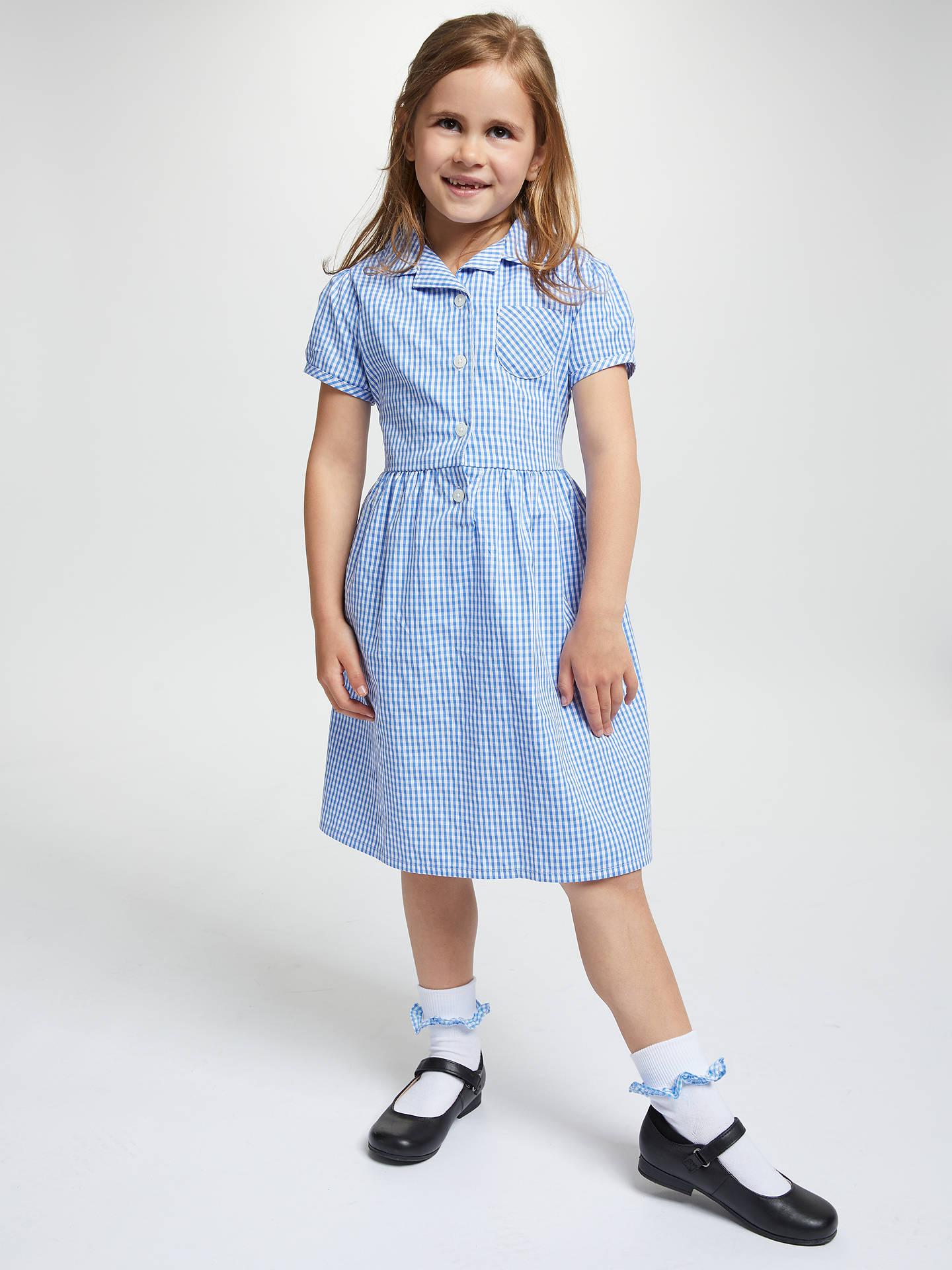 girl summer uniform school gingham summer skirt