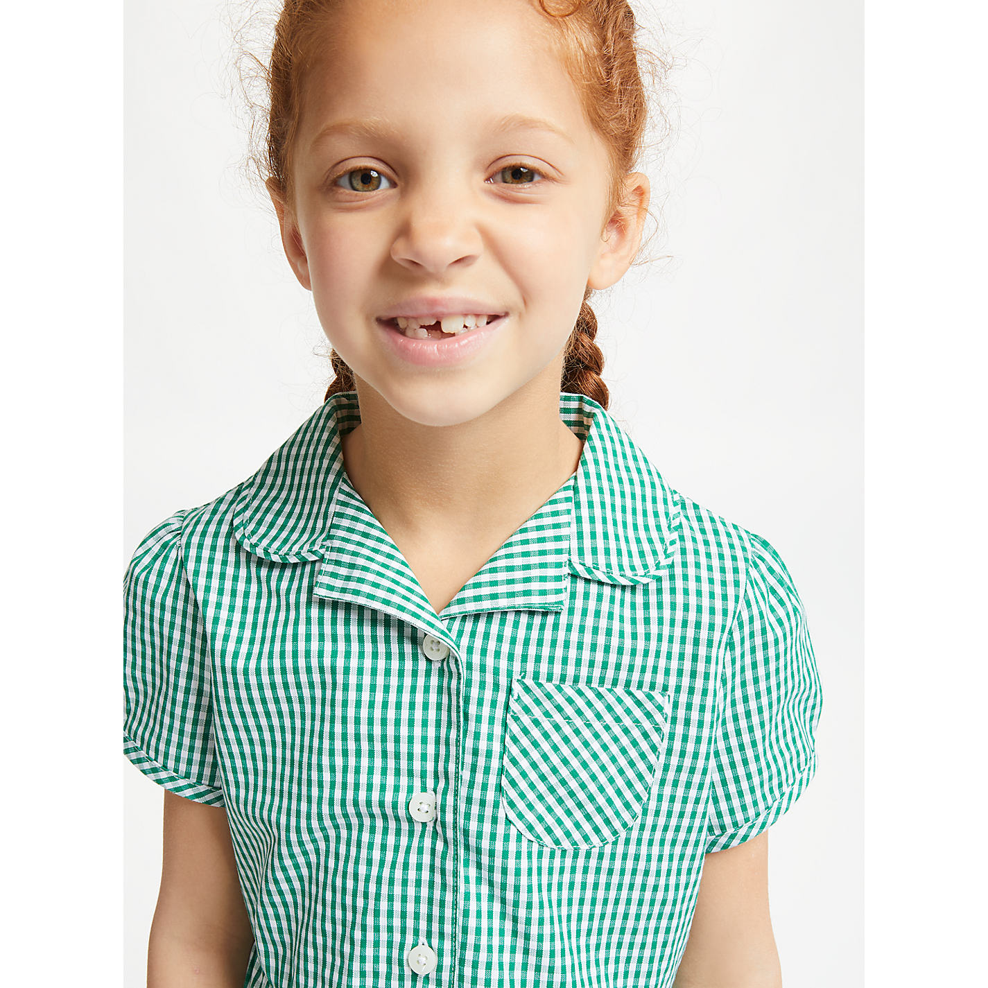 Green school summer dresses