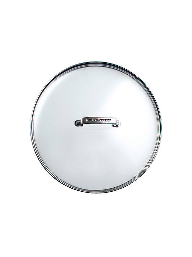 Buy Le Creuset Toughened Non-Stick Glass Lids, 28cm Online at johnlewis.com