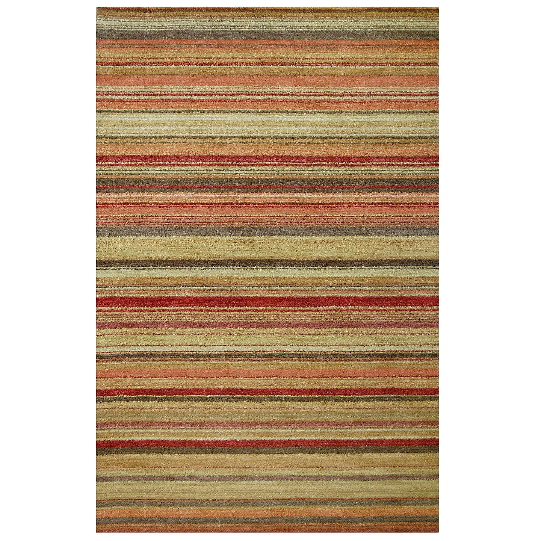 John Lewis Multi Stripe Rugs, Harvest, L300 X W200cm At