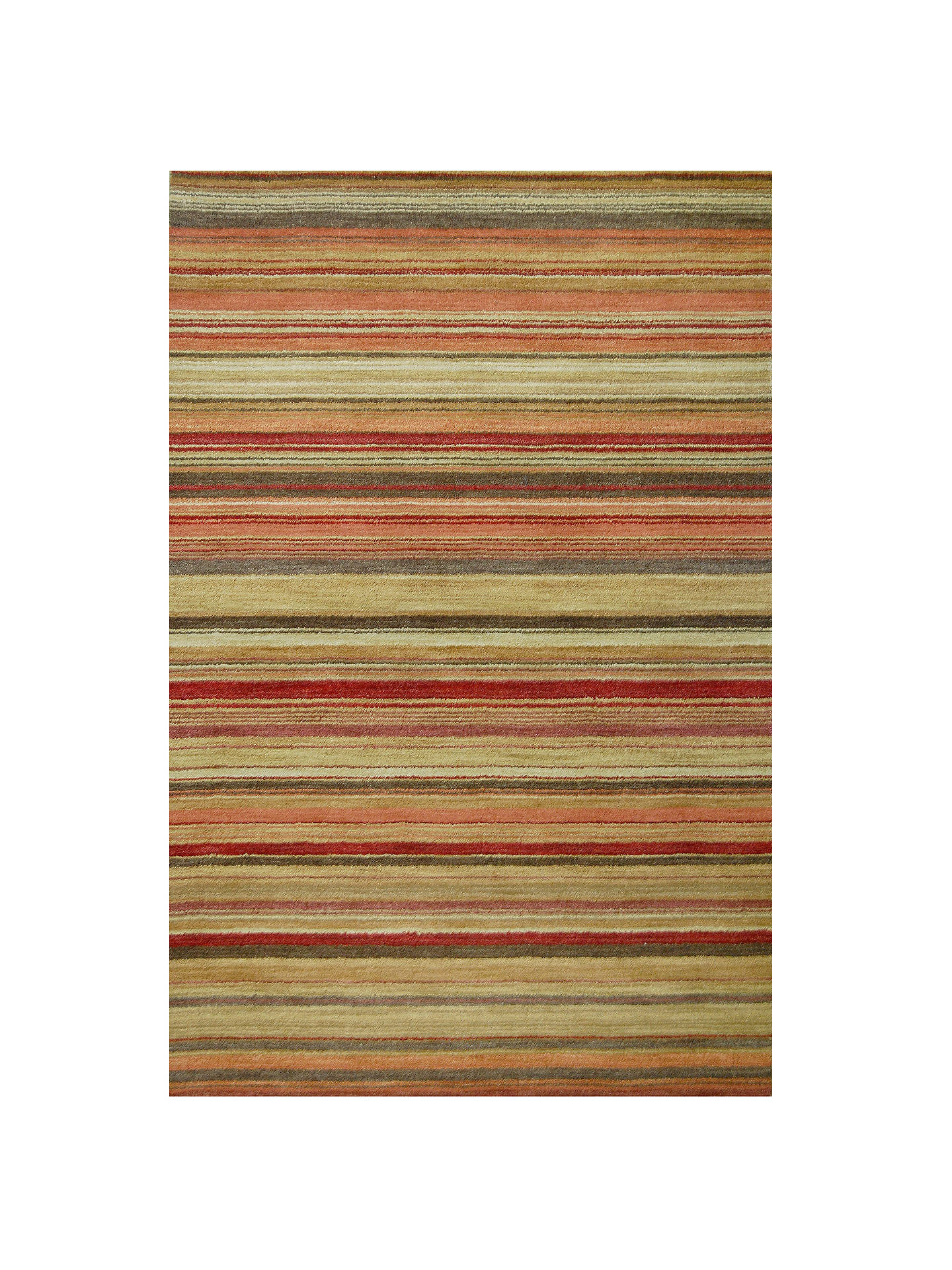 BuyJohn Lewis & Partners Multi Stripe Rugs, Harvest, L120 x W60cm Online at johnlewis.com