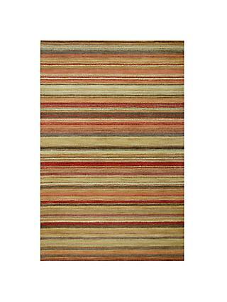 John Lewis Partners Multi Stripe Rugs Harvest L240 X W170cm