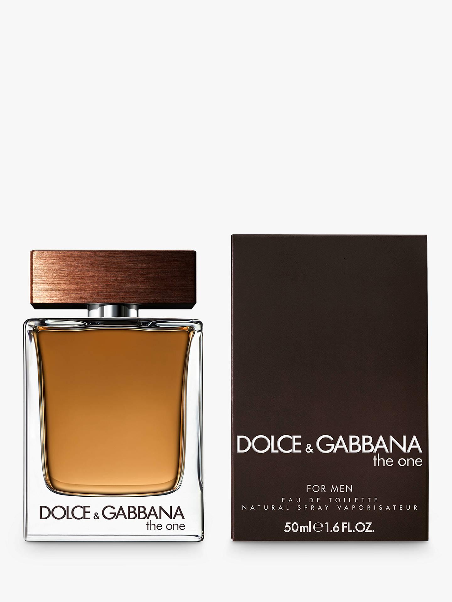 Dolce   Gabbana The One For Men Eau de Toilette at John Lewis   Partners 09eb4c6cc9b9a