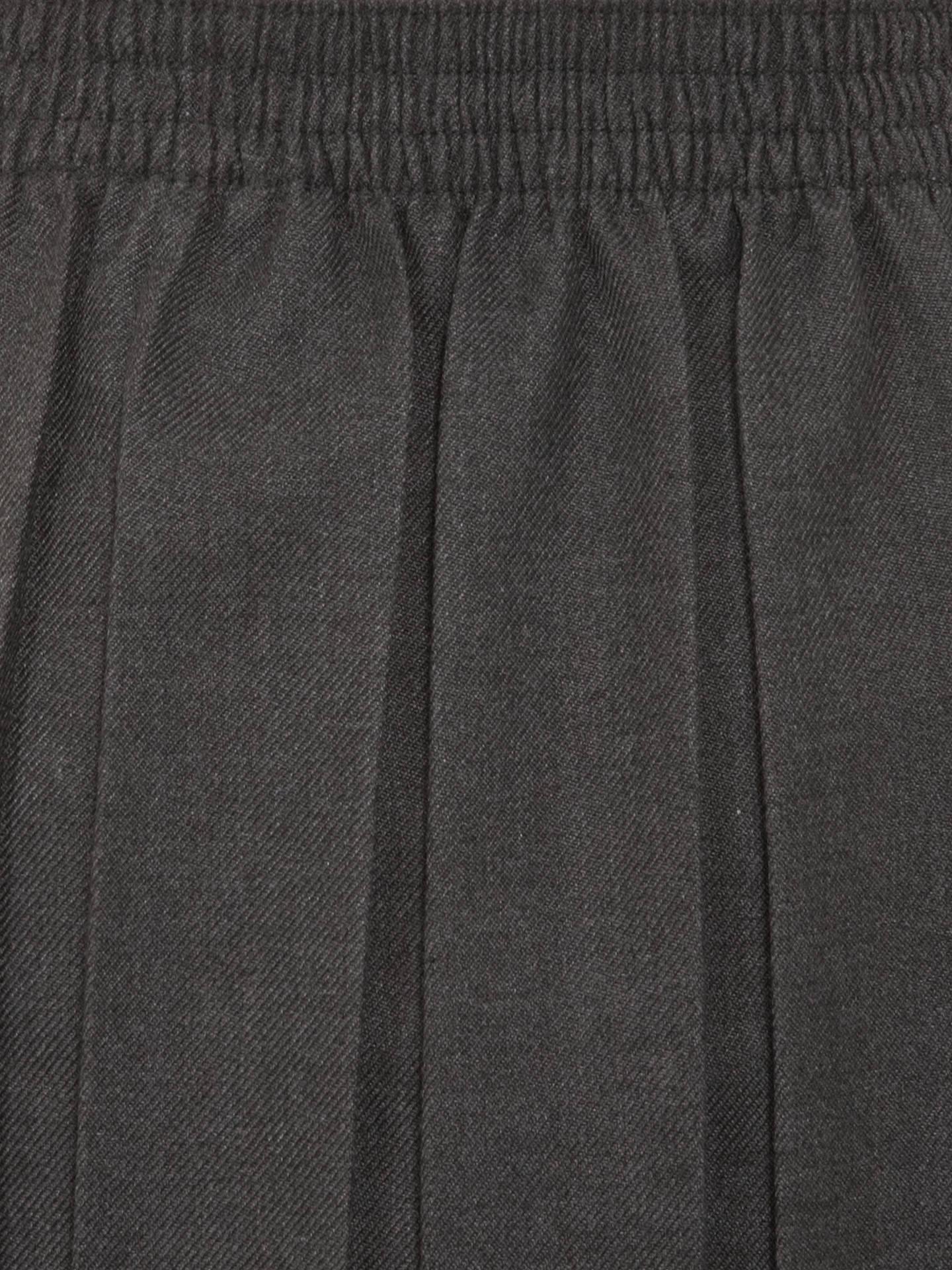 65cb93e66 Grey Box Pleat School Skirt