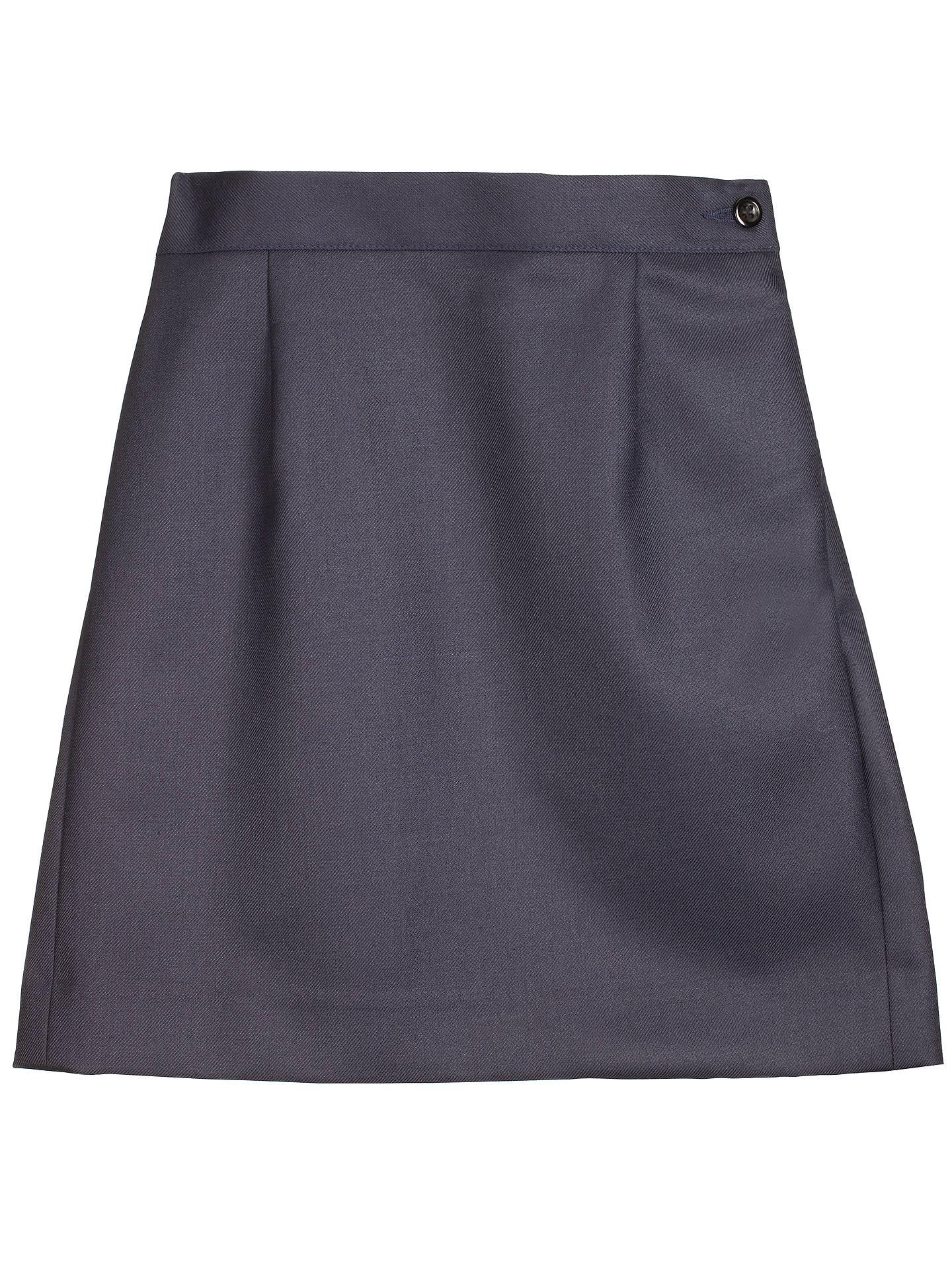 3eb9ca5e104e5 Girls' School Wool Mix Pencil Skirt, Navy at John Lewis & Partners