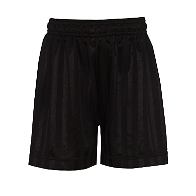 John Lewis Football Shorts, Black