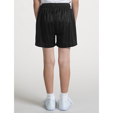 Buy John Lewis Football Shorts, Black Online at johnlewis.com