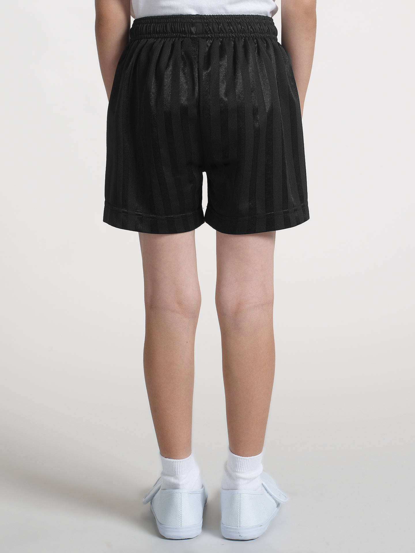 Buy John Lewis & Partners Football Shorts, Black, 13-14 years Online at johnlewis.com
