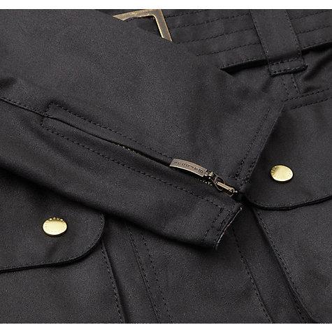 Buy Barbour International Wax Jacket Black John Lewis