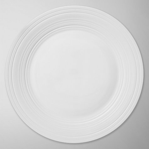 Buy Jasper Conran for Wedgwood Strata Plates, White Online at johnlewis.com
