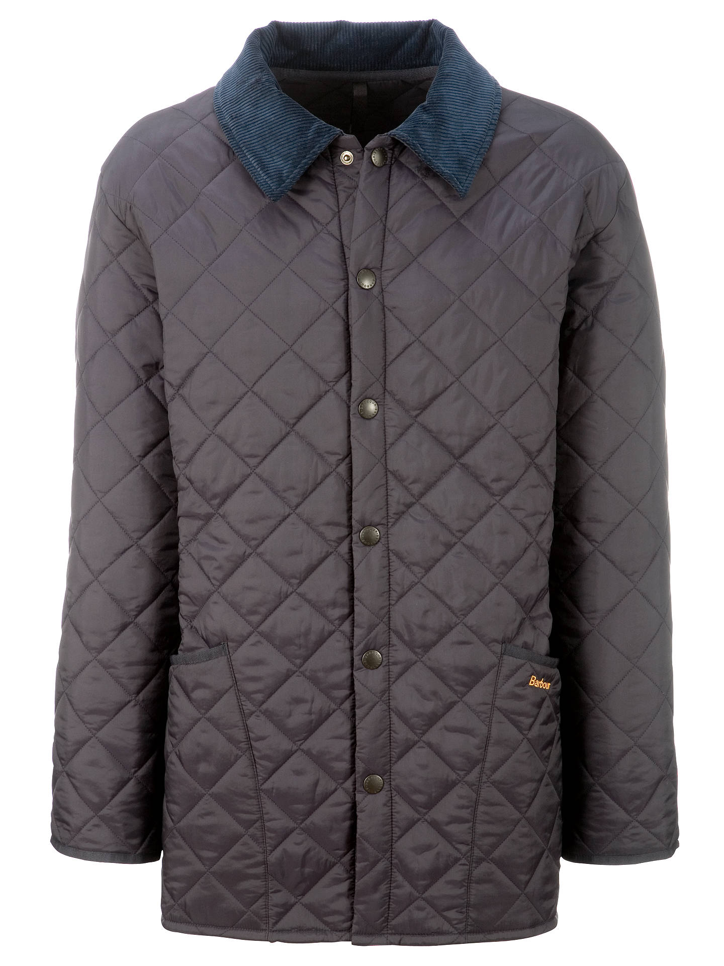 Barbour Liddesdale Quilted Jacket Navy At John Lewis Partners