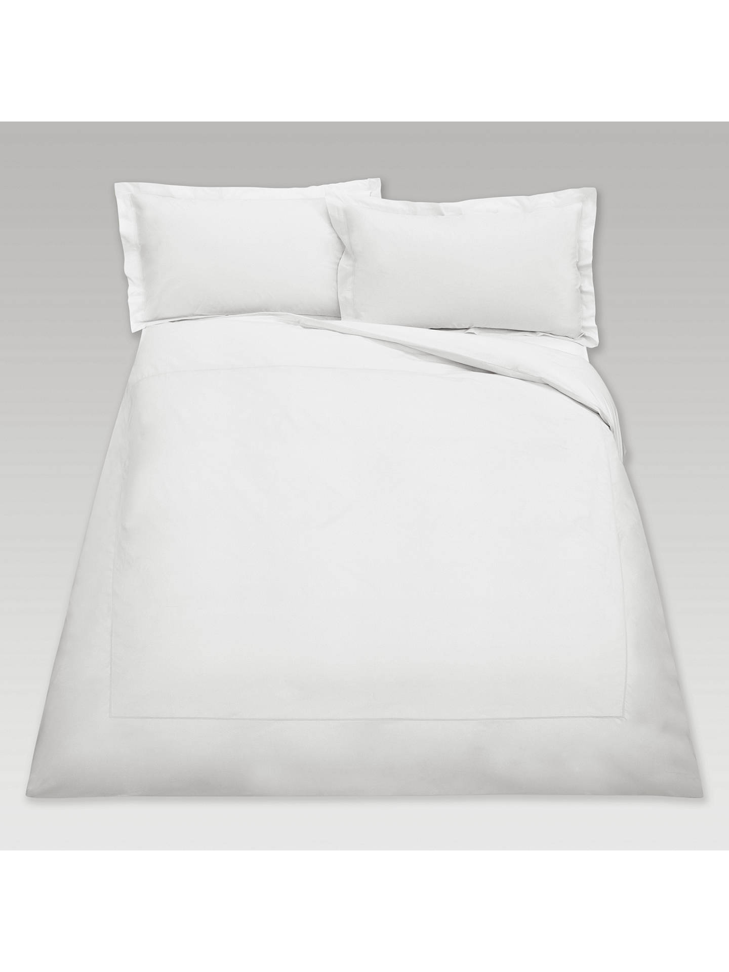BuyPeter Reed Egyptian Cotton 2 Row Cord Oxford Pillowcase, White Online at johnlewis.com