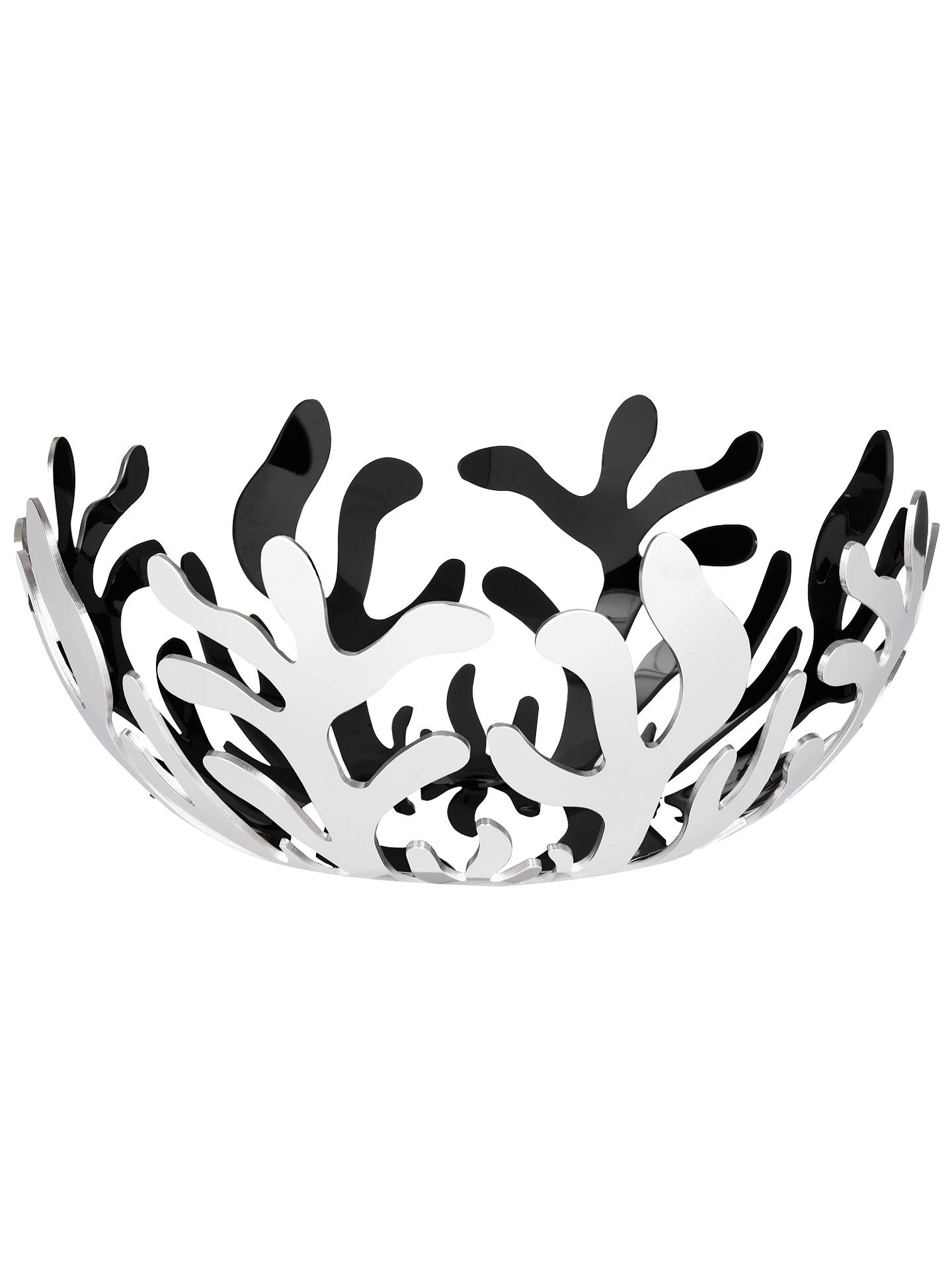 BuyAlessi Mediterraneo Stainless Steel Fruit Basket, Dia.29cm Online at johnlewis.com