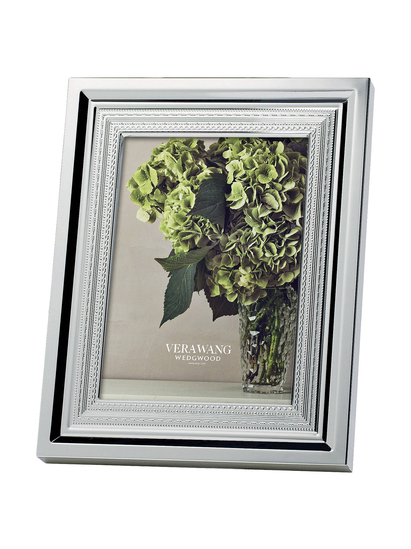 "Buy Vera Wang With Love Photo Frame, Silver, 5 x 7"" (13 x 18cm) Online at johnlewis.com"