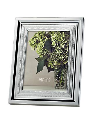 Vera Wang for Wedgwood With Love Photo Frame, Silver