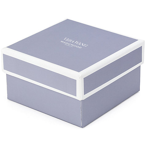 Buy Vera Wang for Wedgwood With Love Photo Frame, Silver Online at johnlewis.com